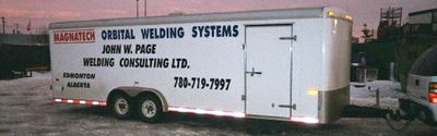 John W. Page Welding Consulting Trailer